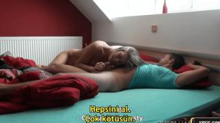 Banyoda, Arabada, Yatakta Çılgın Sex